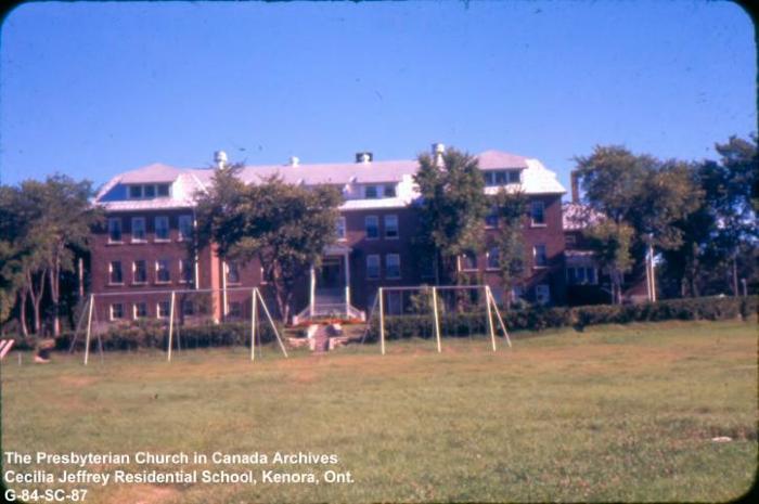 Cecilia Jeffrey Residential School