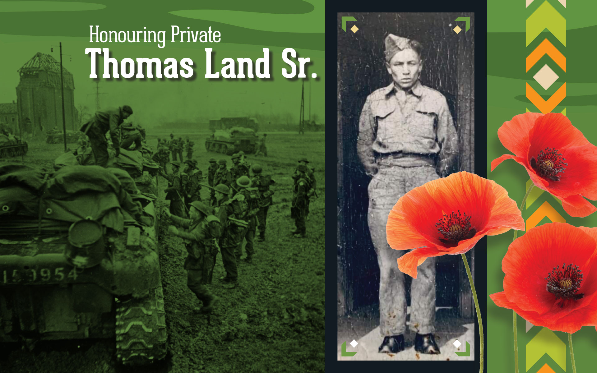 Honouring Private Thomas Land Sr.