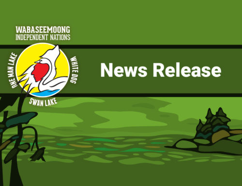 Government of Canada supports a Mercury Wellness Centre and other community health needs in Wabaseemoong Independent Nations